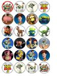 24 x Toy Story 3 Edible Rice Wafer Paper Cup Cake Bun Toppers